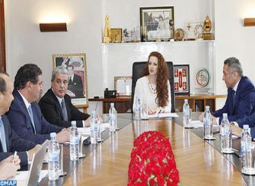 HRH Princess Lalla Salma Chairs Board Of Directors Of Lalla Salma Foundation For Cancer Prevention And Treatment
