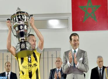 SAR le Prince Moulay Rachid préside, à Laâyoune, la finale de la Coupe du Trône de Football 2015-2016