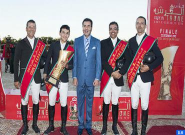 HRH Prince Moulay Rachid Chairs In Rabat Final Of 2013 Show Jumping Club Throne Cup