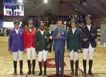 HRH Prince Moulay Rachid Chairs Mohammed VI Horse Jumping Grand Prix Giving Ceremony In El Jadida