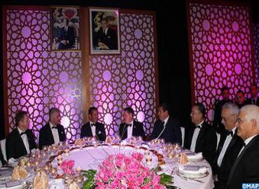 HRH Prince Moulay Rachid Chairs Dinner Offered By HM The King In Honor Of Participants In 41st Hassan II Golf Trophy