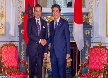 SAR el Príncipe Moulay Rachid se entrevista en Tokio con el primer ministro japonés