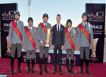 SAR el Príncipe Heredero Moulay El Hassan preside en Rabat la final de la sexta edición de la Copa del Trono de los clubs de salto de obstáculos
