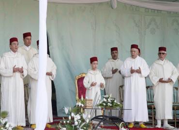 SAR le Prince héritier Moulay El Hassan préside à Salé la cérémonie d'inauguration du moussem des cierges Moulay Abdellah Ben Hassoun