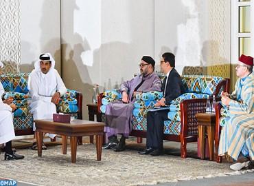 Arrivée à Doha de SM le Roi Mohammed VI