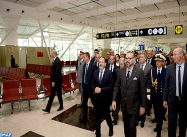 HM the King Inaugurates Terminal 1 of Casablanca Mohammed V Airport, Launches Entry Into Operational Use of Airport Infrastructure of National Scope