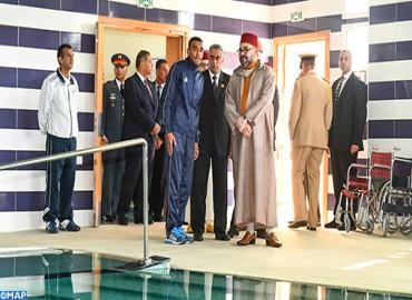SM el Rey inaugura en Casablanca la sección regional del Centro Nacional Mohammed VI de los Discapacitados