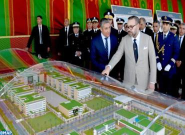 جلالة الملك ، المقر الجديد للمديرية العامة للأمن الوطني،