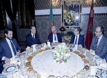 HM the King Offers Dinner in Honor of Portuguese PM