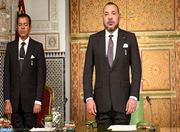 Discours de SM le Roi adressé à la nation à l'occasion du 39ème anniversaire de la Marche Verte