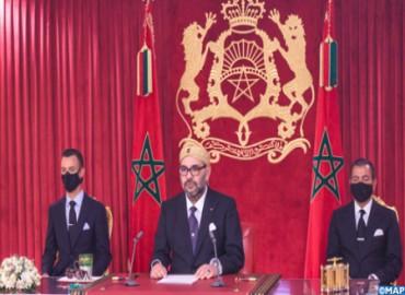 صاحب الجلالة يوجه خطابا ساميا إلى الأمة بمناسبة الذكرى الـ67 لثورة الملك والشعب