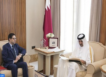 Message écrit de SM le Roi à l'Emir de l'Etat du Qatar