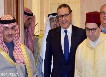 رسالة خطية من جلالة الملك إلى أمير دولة الكويت