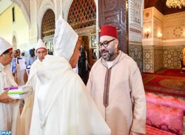 SM le Roi, Amir Al Mouminine, préside la sixième causerie religieuse du mois sacré de Ramadan