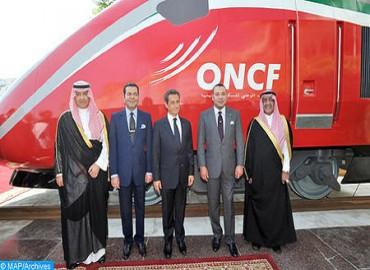 SM el Rey Mohammed VI bautiza el Tren de Alta Velocidad marroquí con el nombre de