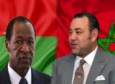 Entrevista telefónica entre SM el Rey y el presidente de Burkina Faso