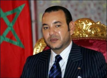 برقية تعزية من جلالة الملك إلى عقيلة الوزير الأول الأسبق للجمهورية الفرنسية بيير موروي