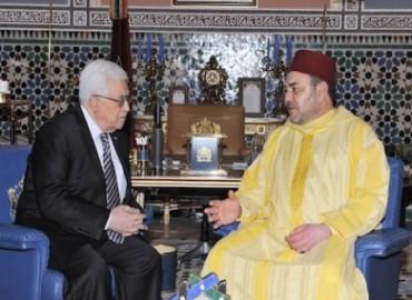 SM le Roi s'entretient au téléphone avec le Président de l'Autorité palestinienne