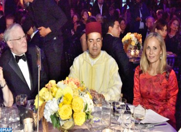 HM King Mohammed VI Honoured with Global Hope Coalition Award for Promoting Tolerance