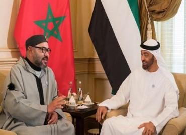 SM el Rey asiste al Consejo de SA Jeque Mohamed Ben Zayed Al Nahyane, en el marco de su visita de trabajo y de fraternidad a los Emiratos que coincide con la conmemoración del centenario del nacimiento del difunto SA Jeque Zayed Ben Soltane Al Nahyane