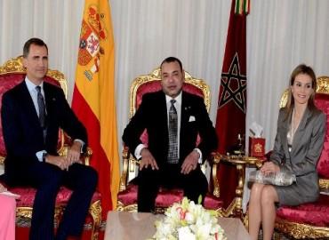عاهلا المملكة الإسبانية يقومان بزيارة رسمية للمغرب