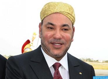 SM le Roi félicite le président de la République de Palau à l'occasion de la fête nationale de son pays