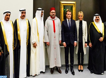 HM the King Takes Part in Opening Ceremony of 'Louvre Abu Dhabi' Museum