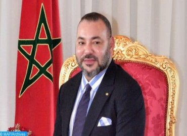 HM the King Congratulates Mohamed Cheikh Mohamed Ahmed El Ghazouany on his Election as Mauritania's President