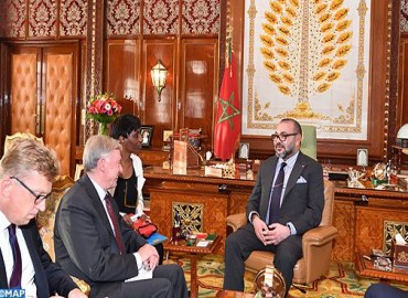 SM le Roi reçoit l'envoyé personnel du SG de l'ONU pour le Sahara marocain