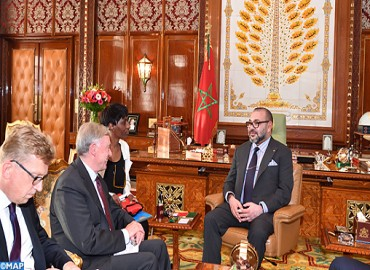 HM the King Receives UN Secretary General Personal Envoy for Moroccan Sahara