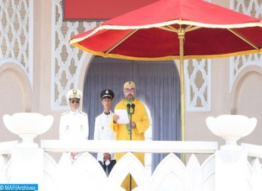 Throne Day: HM the King Chairs in Tetouan Oath-taking Ceremony of Graduate Officers of Major Military and Paramilitary Schools