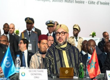 Message of HM the King to 5th African Union-European Union Summit in Abidjan,