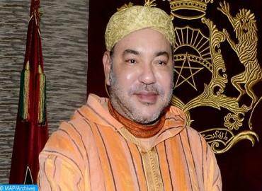SM le Roi félicite le Président de l'État des Émirats Arabes Unis à l'occasion de son anniversaire