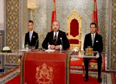 Texte intégral du discours royal à l'occasion de la Fête du Trône