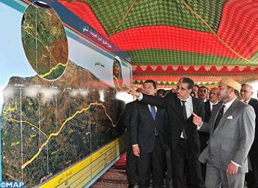 جلالة الملك يعطي انطلاقة أشغال إنجاز الطريق السيار الجديدة – آسفي