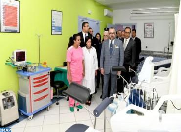 جلالة الملك يدشن مركزا للعلاجات الصحية الأساسية بسيدي بوقنادل بسلا