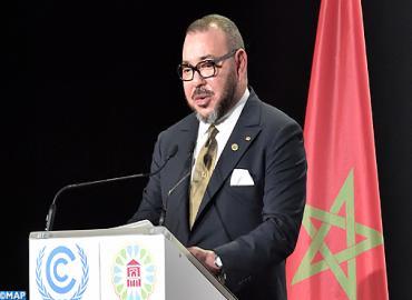 جلالة الملك يوجه خطابا ساميا إلى الجلسة الرسمية رفيعة المستوى لمؤتمر كوب 22