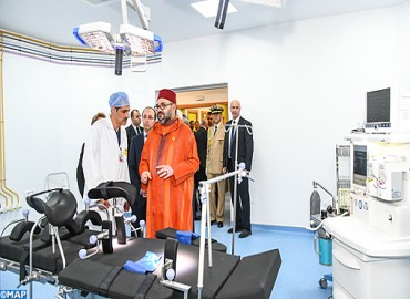 HM the King Inaugurates in Rabat Medical Center