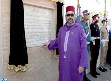 Fundación Mohammed V para la Solidaridad: SM el Rey inaugura un centro de tratamiento de adicciones en Benslimane
