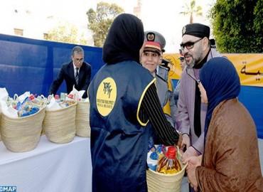 HM the King Launches in Rabat Foodstuffs Distribution Operation 'Ramadan 1440'