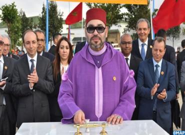 SM le Roi lance les travaux de construction d'un Centre de soins de santé primaires à Ain Chock à Casablanca