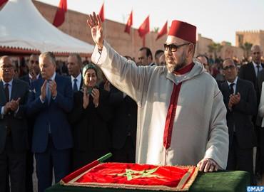 جلالة الملك يعطي انطلاقة أشغال إنجاز مشروعين تضامنيين بالمدينة القديمة لمراكش