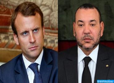 Message de condoléances de SM le Roi au président français suite à la fusillade de Strasbourg