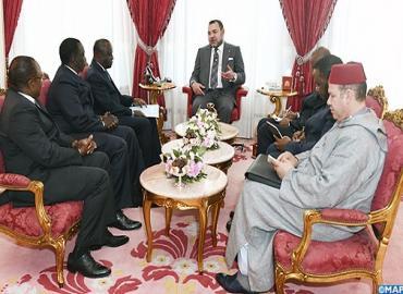 في إطار الاتصالات المنتظمة بين قائدي البلدين، صاحب الجلالة يستقبل مبعوثا من الرئيس الإيفواري