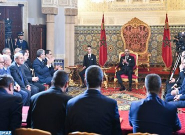 HM the King Presides over Signing Ceremony of Framework Agreement for Implementation of 2020-2027 National Program for Drinking and Irrigation Water Supply