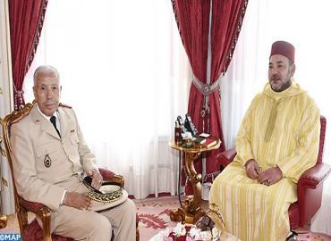 SM le Roi nomme le Général de Corps d'Armée Bouchaib Arroub, Inspecteur général des FAR, Commandant la zone Sud
