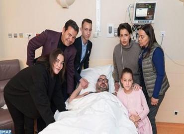 بلاغ: جلالة الملك محمد السادس يجري عملية جراحية كللت بالنجاح