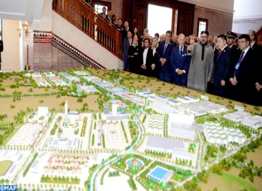HM the King Chairs Ceremony to Present 'Mohammed VI Tangiers Tech City' Project