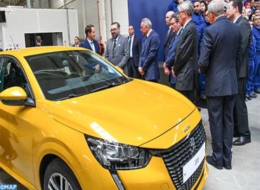 Kénitra: SM le Roi Mohammed VI inaugure la nouvelle usine PSA