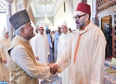 M le Roi, Amir Al Mouminine, préside la deuxième causerie religieuse du mois sacré de Ramadan